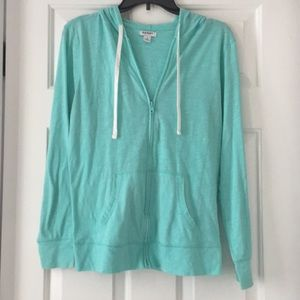 Zip up Lightweight Sweatshirt